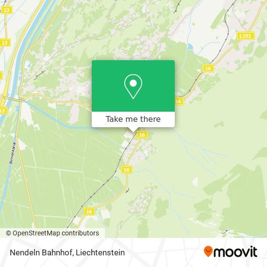 Nendeln Bahnhof map