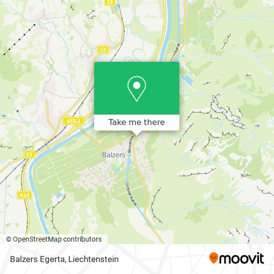 Egerta map