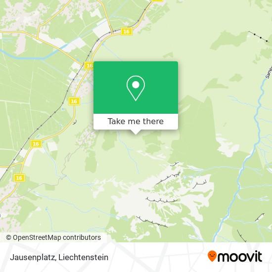 Jausenplatz map