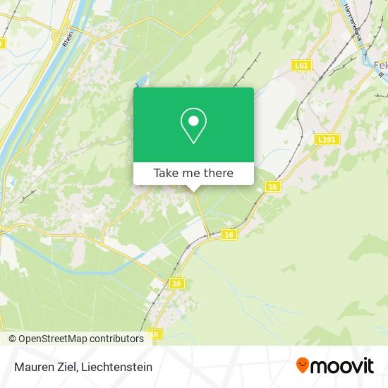 Mauren Ziel map