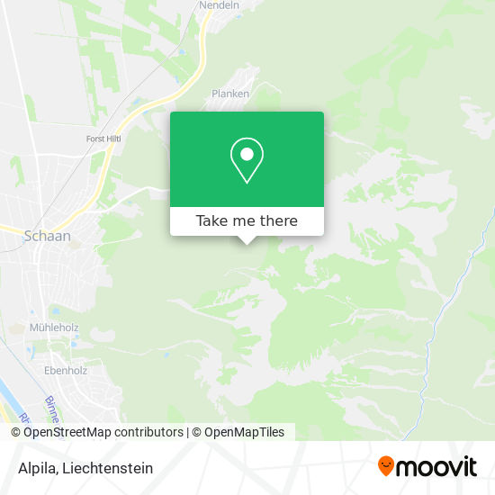 Alpila map