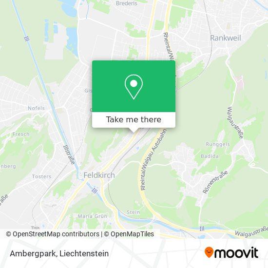 Ambergpark map