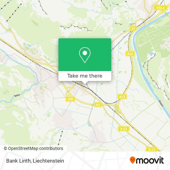Bank Linth map