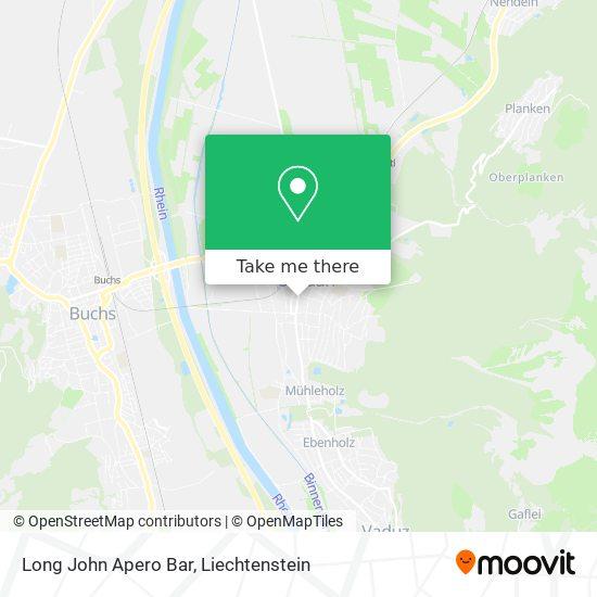 Long John Apero Bar map