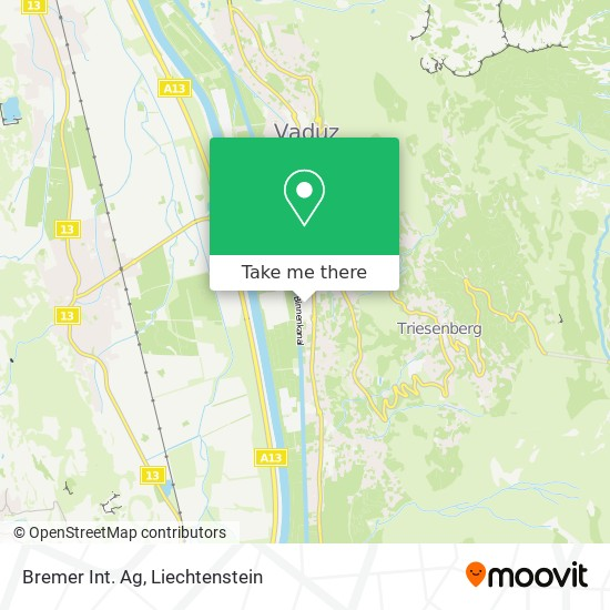 Bremer Int. Ag map