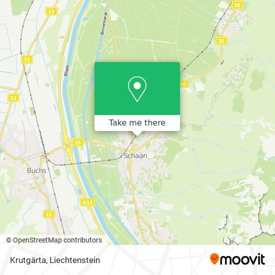 Krutgärta map