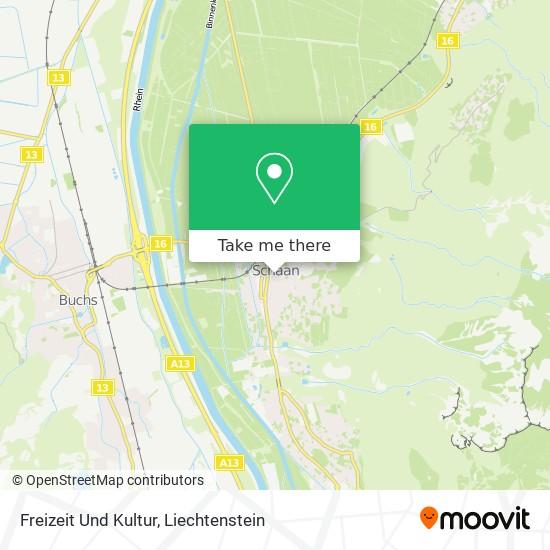 Freizeit Und Kultur map