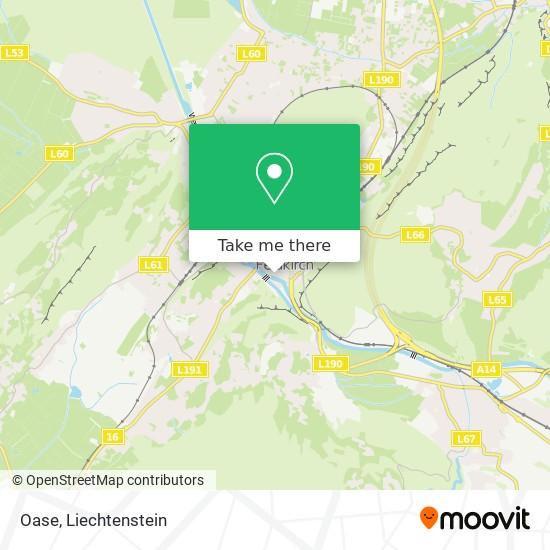 Oase map