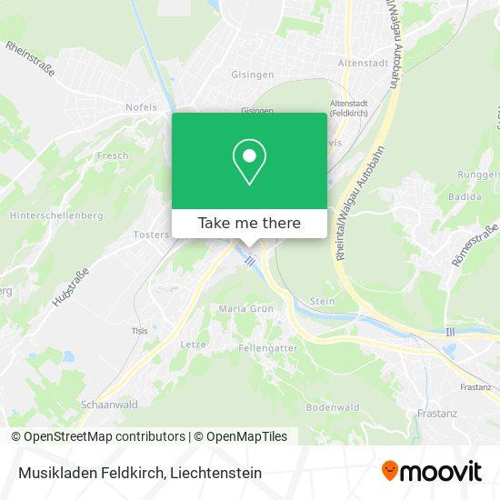 Musikladen Feldkirch map