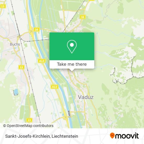 Sankt-Josefs-Kirchlein map