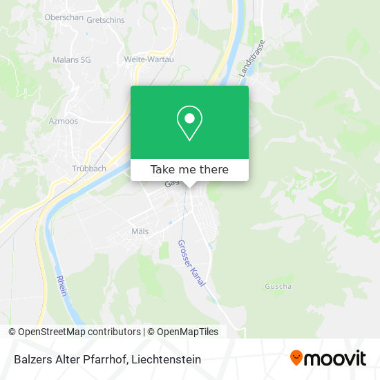 Alter Pfarrhof map