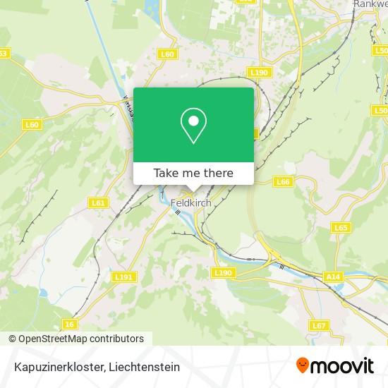Kapuzinerkloster map