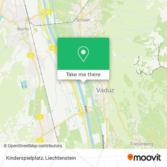 Kinderspielplatz map