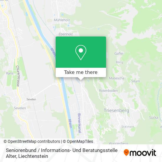 Seniorenbund / Informations- Und Beratungsstelle Alter map