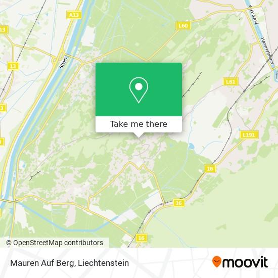 Mauren Auf Berg map