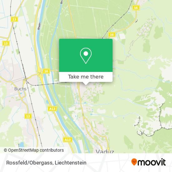 Rossfeld/Obergass map
