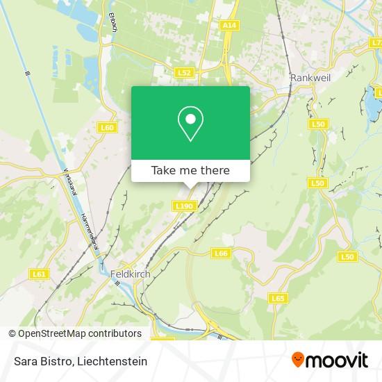 Sara Bistro map