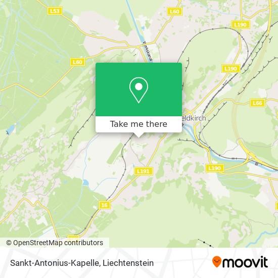 Sankt-Antonius-Kapelle map