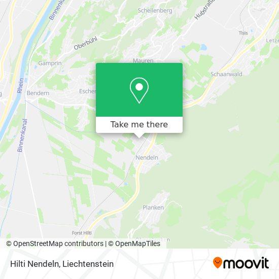 Hilti Nendeln map