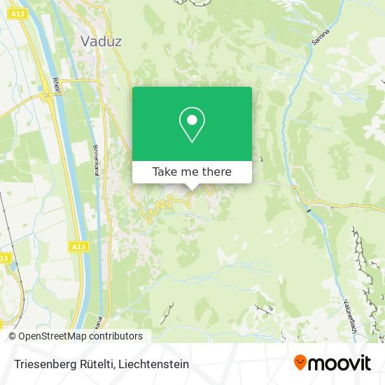 Rütelti map