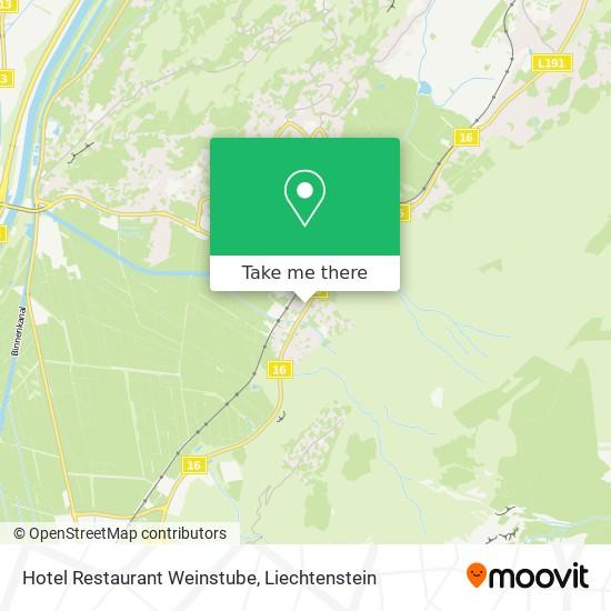Hotel Weinstube map