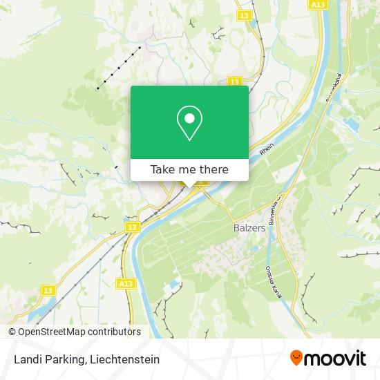 Landi Parking map