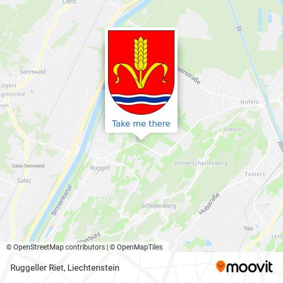 Ruggeller Riet map