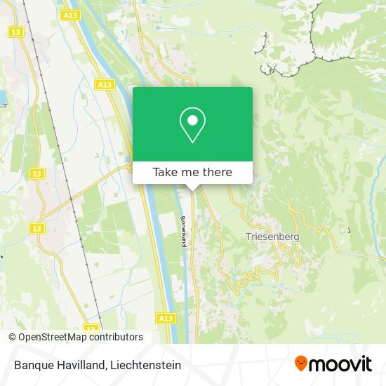 Banque Havilland map