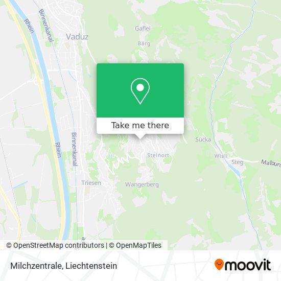 Milchzentrale map