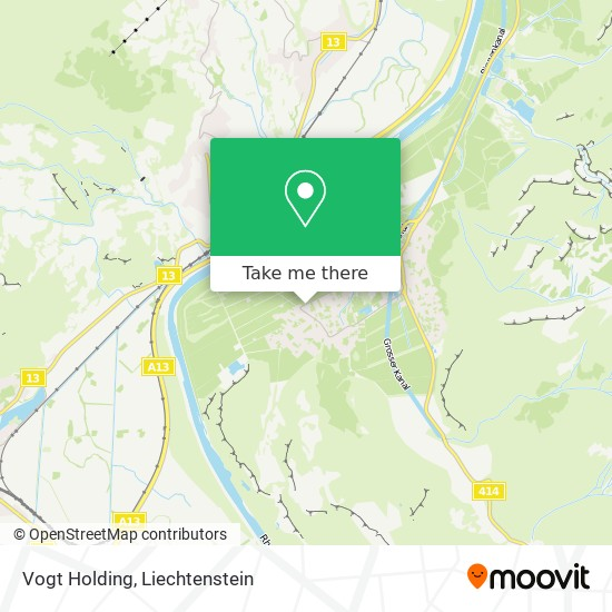 Vogt Holding map