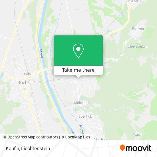 Kaufin map