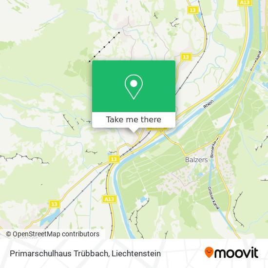 Primarschulhaus Trübbach map