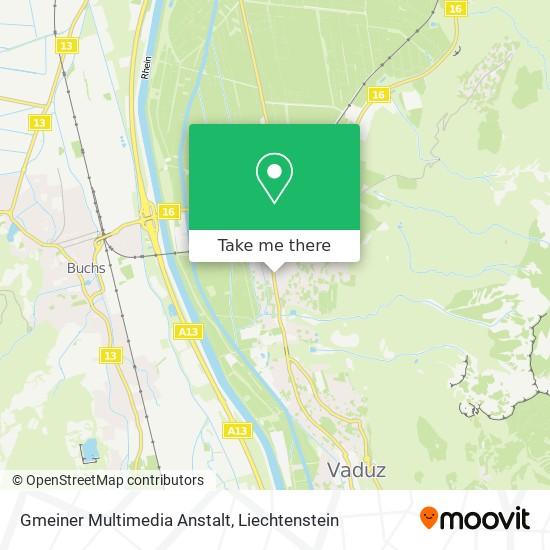 Gmeiner Multimedia Anstalt map