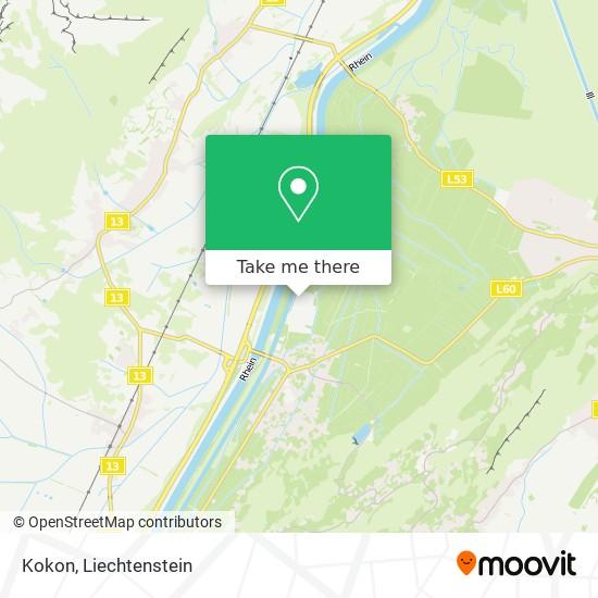 Kokon map