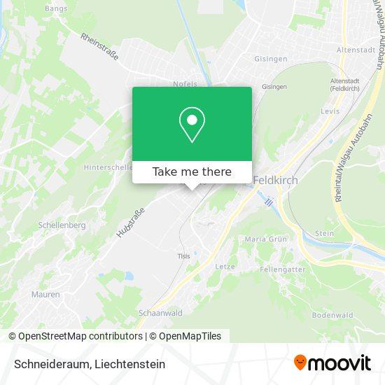 Schneideraum map