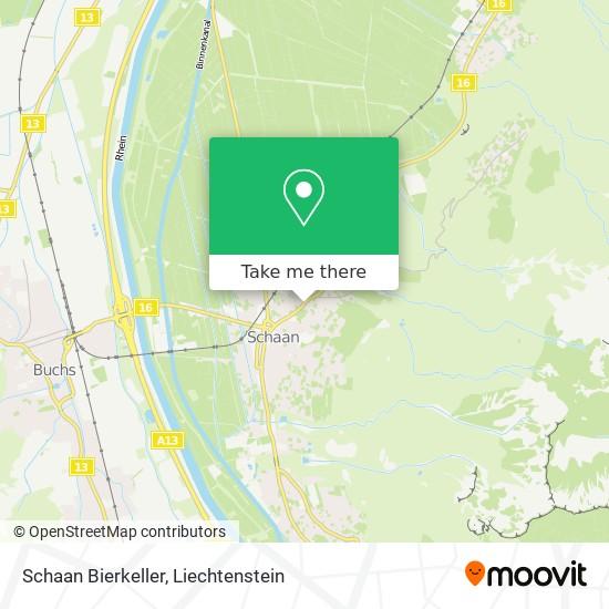 Bierkeller map
