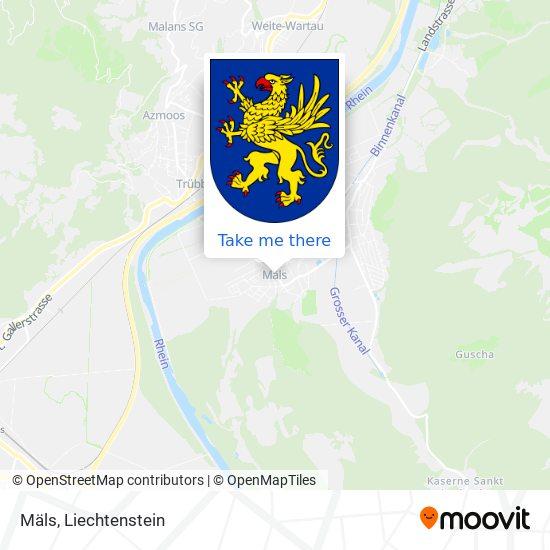 Mäls map