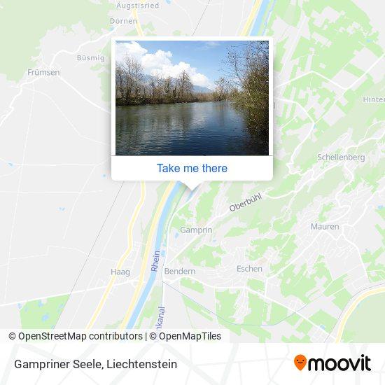 Gampriner Seele map