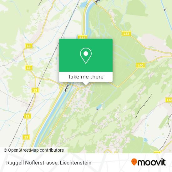 Ruggell Noflerstrasse map