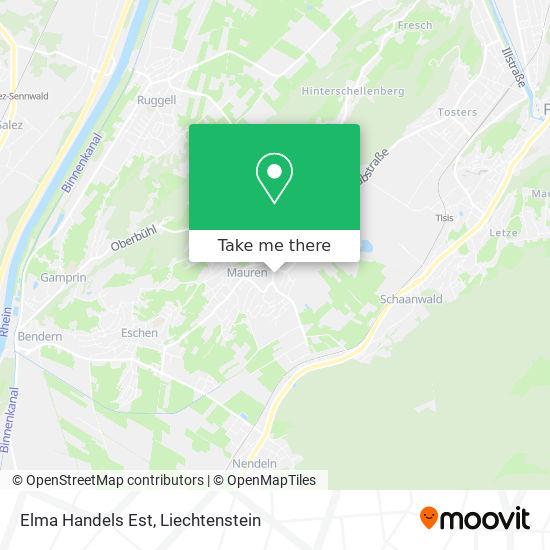 Elma Handels Est map