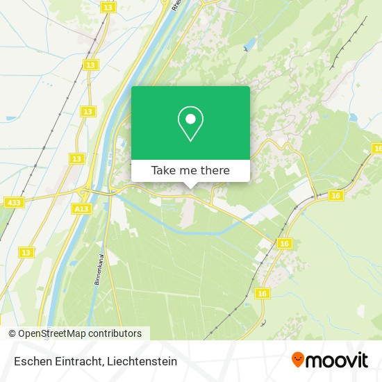 Eschen Eintracht map
