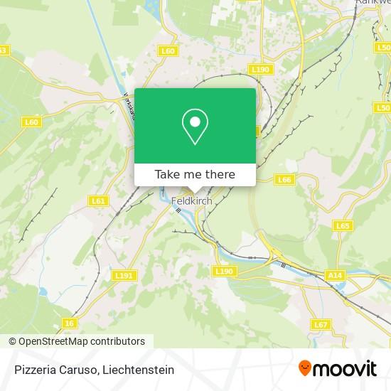 Pizzeria Caruso map