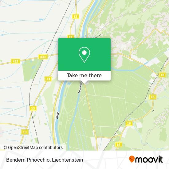 Bendern Pinocchio map