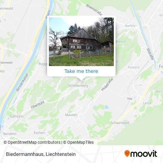 Biedermannhaus map