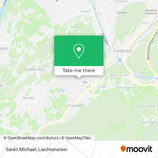 Sankt Michael map