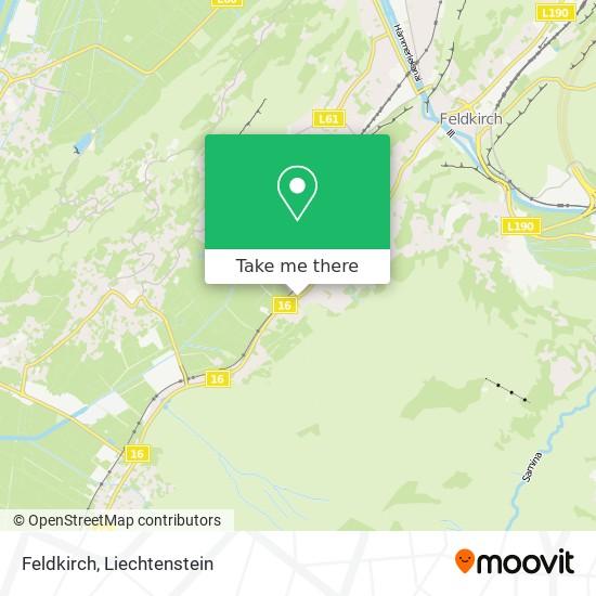 Feldkirch map