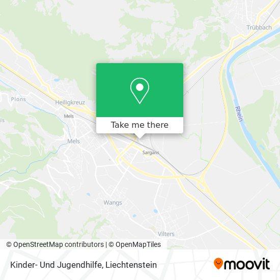 Kinder- Und Jugendhilfe map