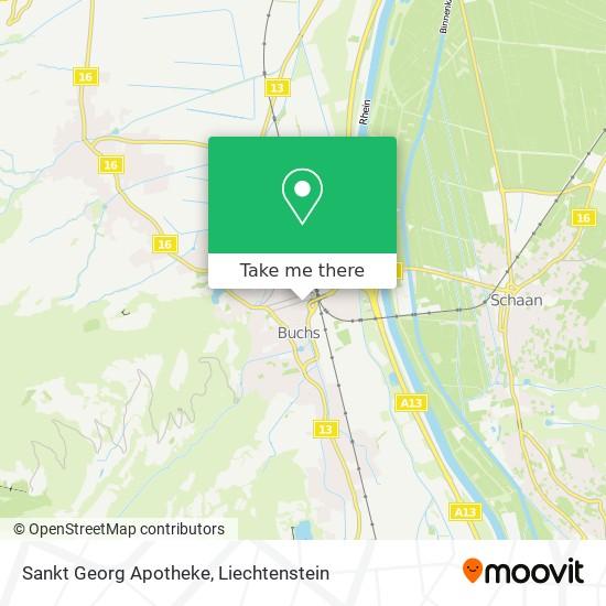 Sankt Georg Apotheke map