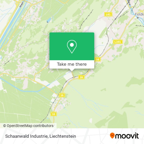 Industrie map
