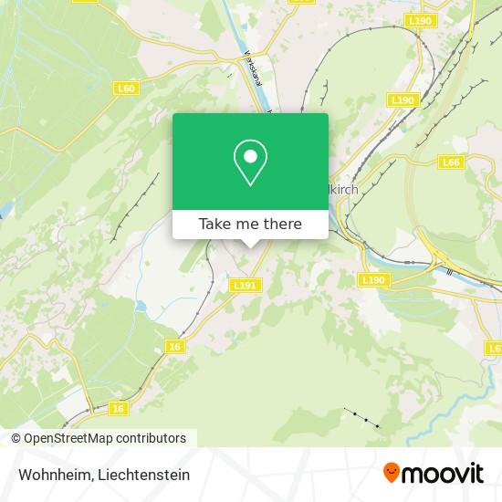 Wohnheim map
